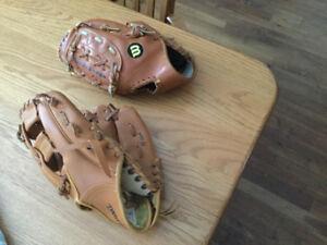 Gants de baseball pour jeunes
