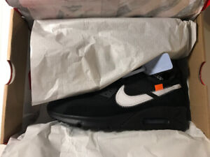 timeless design f946d a5a5a Nike Off white air max 90 size 8.5 and size 9.5