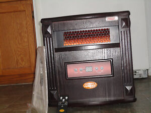 Never used Portable infrared  (Quartz furnace heater)