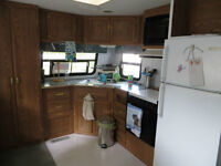 REDUCED - Well-maintained 33 ft Terry by Fleetwood park model