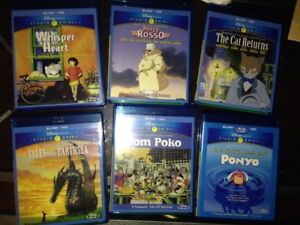 Studio Ghibli Blu-ray (Disney, out of print versions) for sale