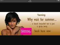 Mobile Sienna x spray Tan £15 and Acrylic Nails £25