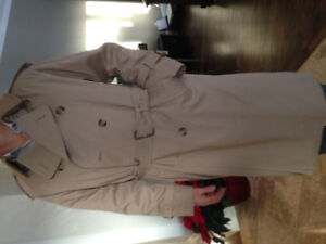 Burberry Trench Coat- Like New!