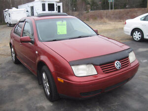 2000 VW Jetta GLS tdi. Loaded. Trades.Powertrain Warranty