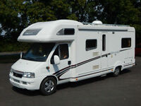 Swift KON-TIKI 645 VOGUE, 2006, 6 Berth, 2.8D Fiat, 27k Miles, VGC, 6 MONTH WTY!