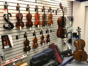 New and Used Violins and Cellos