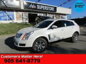 2014 Cadillac SRX Luxury  (NEW TIRES) NAV CUE PANO-ROOF BLINDSPO