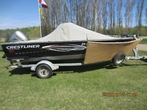 2011 Crestliner Fish Hawk 1650 with 90 hp Honda $24,000.00