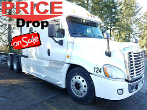 Price Reduced: 2015 Freightliner Cascadia