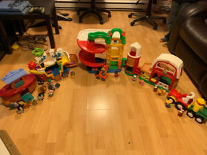 FISHER PRICE LITTLE PEOPLE (ENSEMBLE)