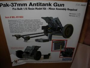 Pegasus 1/6 Scale Pak-37mm Anti Tank Gun