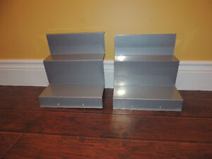 Two Ikea Bonde shelf inserts in line-new condition.