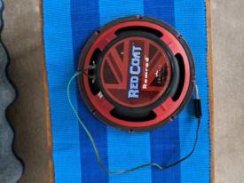 Eminence Redcoat Ramrod 10 inch speaker! Like celestion V30