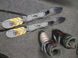 Boots and skis