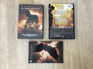 Batman Begins 2-Disc Deluxe Edition DVD with Comic Book