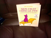MON CHAT CHEZ LE PSY Tome 2 Livre - Documentaire NEUF