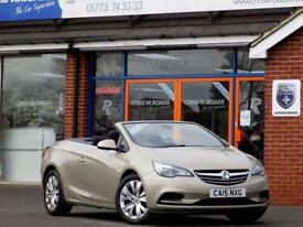 2015 15 VAUXHALL CASCADA 2.0 CDTI SE 2DR 165 BHP ONLY 9,000 MILES DIESEL