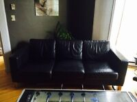 IKEA Leather couch