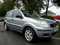 FORD FUSION 1.4 2005 ONLY 63,000 MILES COMPLETE WITH M.O.T HPI CLEAR INC