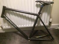 Alloy , lightweight road bike frame