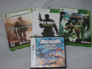 4 Video Games for $15 (All Complete and in Mint Condition)