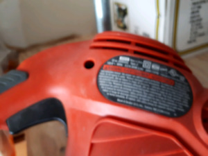 Electric saw to cut tree branches