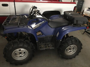 Almost New 2014 Yamaha Grizzly 700 EPS
