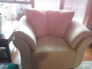 Four month old sofa and chair for sale