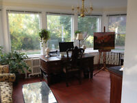 REDUCED! ROSEDALE - ELEGANT - LOCATION!  3 - 4 MONTH FALL SUBLET