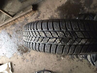 195/65/15 quality part worn winter tyres