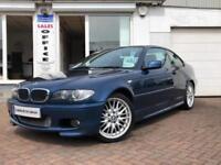 2006 BMW 318 2.0 2006MY Ci M Sport~LOW MILEAGE~SERVICE HISTORY~TOPAZ BLUE~