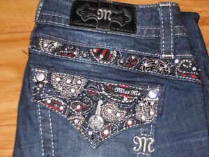 Miss Me Bootcut jeans size 26 x 34 ( worn once)