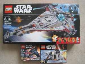 Star Wars Lego sets (75186, 75132 & 75163 & buildable figures)BN