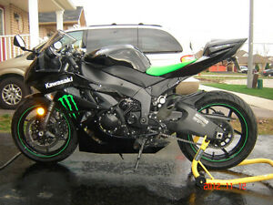 2009 Kawasaki Ninja ZX6R Monster Edition