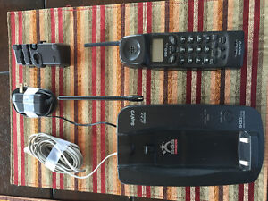 Sanyo Cordless Phone with Call Manager