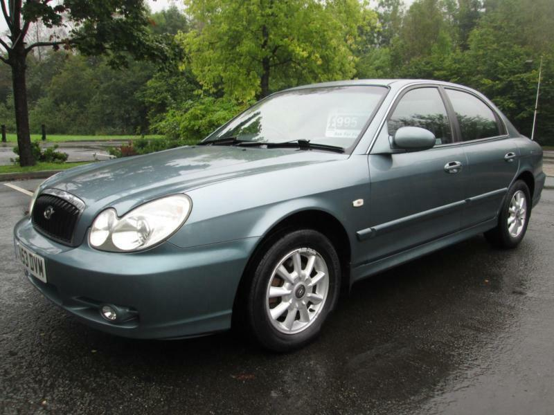 03/53 HYUNDAI SONATA 2.0 CDX 4DR SALOON IN MET GREEN WITH ONLY 78,000 MILES