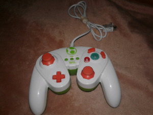 For sale yoshi wii controller in good condition.