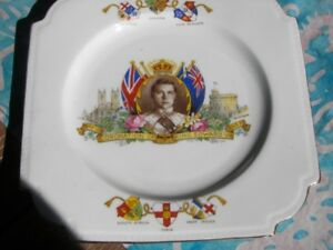 1937 Commemorative plate.