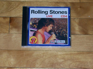 The Rolling Stones Live - 9 Album Collection, Russian CD Import!