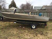 14ft boat & trailer!
