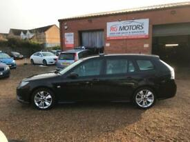 2010 Saab 9-3 1.9 TiD ( 120ps ) SportWagon Turbo Edition Black Estate,