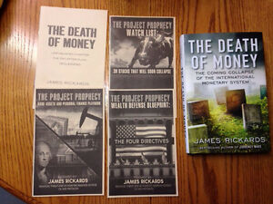 James Rickards book with extras