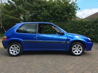 Extremely low mileage Saxo VTR