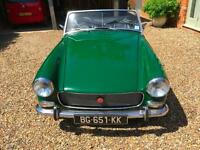 MG/ MGF Midget. NEW HOOD, ENGINE REBUILD. IMMACULATE