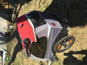 Bicycle trailer and stroller