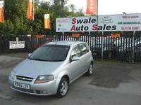 2005 CHEVROLET KALOS SX 1.4L ONLY 99,571 MILES, FULL SERVICE HISTORY