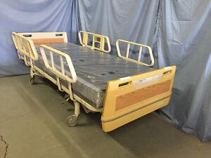 Hill-Rom Advance Hospital Bed & New Mattress