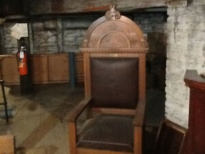 Antique Church Chairs