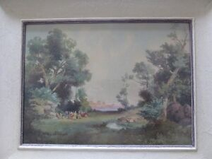 Watercolour Painting by A. G. Dawe