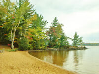 Inviting Family Cottage on Child Friendly Sandy Beach